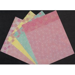150 mm/  60 sh - Sakura Double Sided Origami Paper