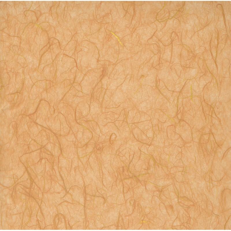 Mulberry Paper - Mild Orange With Threads