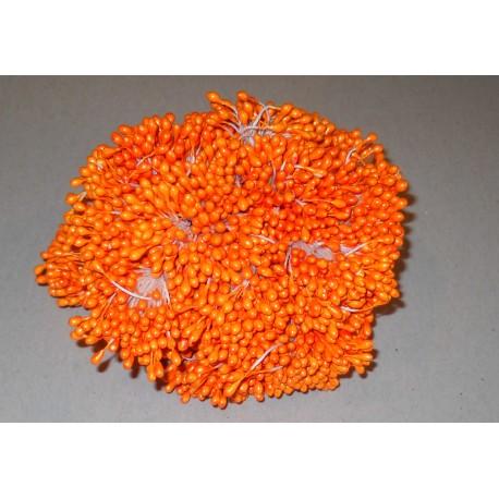 Artificial Flower Stamens Bulk - Bold Orange - 2021