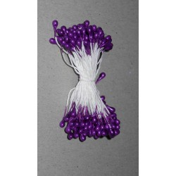Artificial Flower Stamens - Dark Purple - 2021