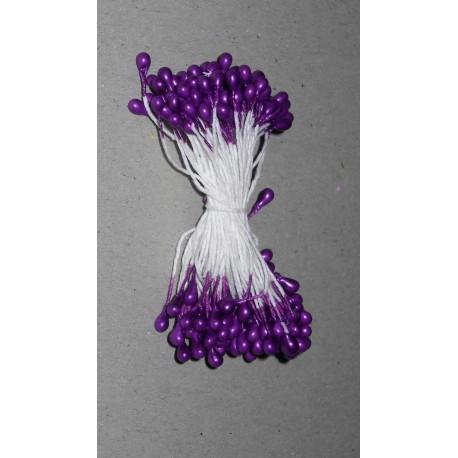 Artificial Flower Stamens - Dark Purple - 2021