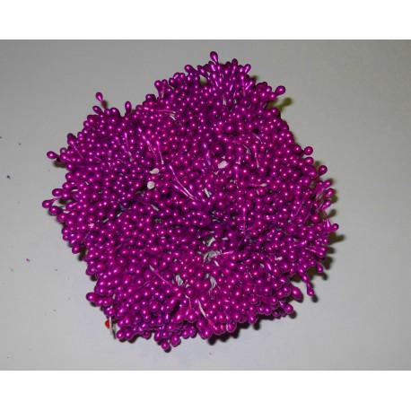 Artificial Flower Stamens Bulk - Dark Magenta - 2021