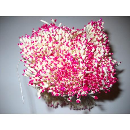 Artificial Flower Stamens Bulk - Dark Pink Tip - 2022