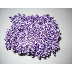 Artificial Flower Stamens Bulk - Light Purple - 2024