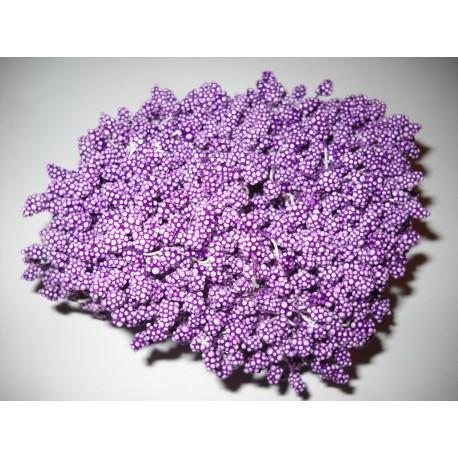 Artificial Flower Stamens Bulk - Dark Purple - 2024
