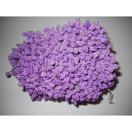 Artificial Flower Stamens Bulk - Dark Magenta - 2024