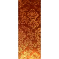 300 mm/  21 sh - Orange Design Foil Paper End Cuts