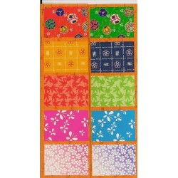 Origami Paper Mix Print Washi - 075 mm - 300 sheets