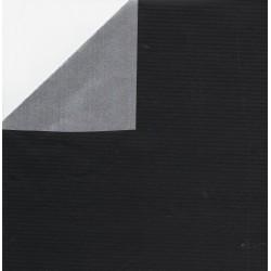 600 mm - Kraft Paper Black and Silver - JR-B981