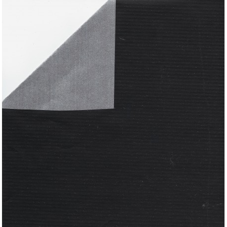 Kraft Paper Double Sided Black and Silver - JR-B981 - 600 mm - 1 sheet