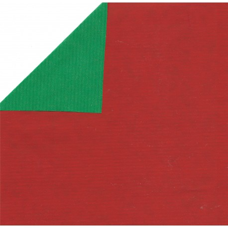 kraft paper double sided red and green jr xb999 600 mm 1 sheet