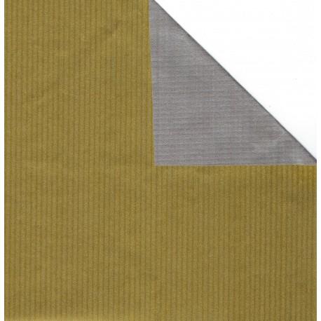300 mm - 8 sh - Kraft Paper Gold and Silver - JR-B995