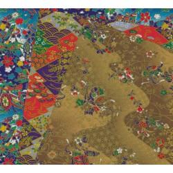 300 mm_6 sh - Three Prints Of Washi Paper