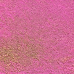Wrinkle Fancy Dark Pink Unryu Mulberry Paper With Gold Brush