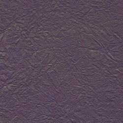 Wrinkle Fancy Dark Plum Unryu Mulberry Paper With Gold Brush