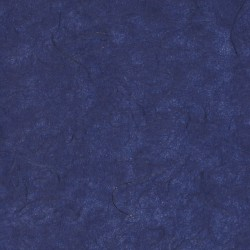 Lite Midnight Blue Unryu With Gold Strands Mulberry Kozo Paper