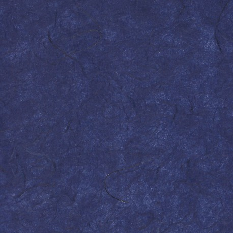 Mulberry Paper - Lite Midnight Blue With Gold Strands