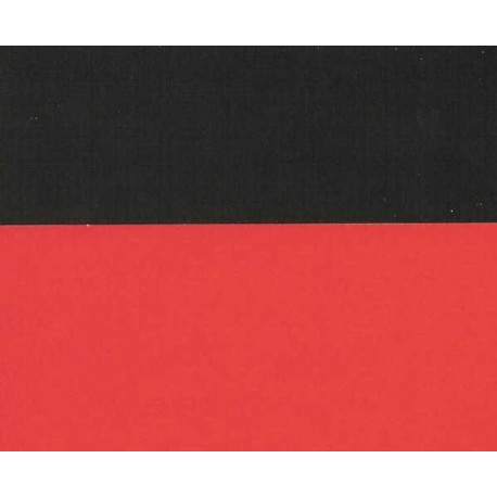 Origami Paper Double Sided Red and Black - 150 mm - 25 sheets