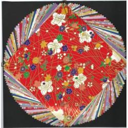Origami Paper  Washi Mixed Plain And Prints - 150 mm -  40 sheets