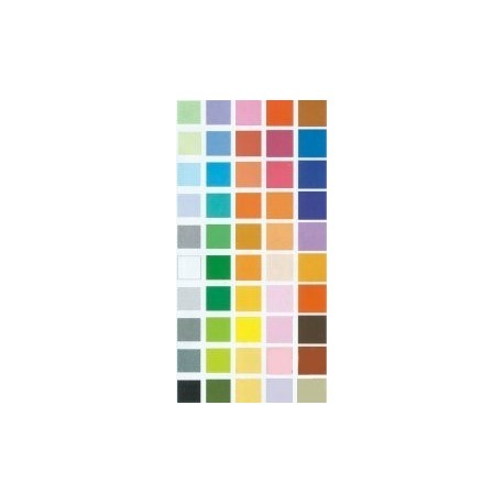 Origami Paper 50 Colors - 112 mm -  50 sheets