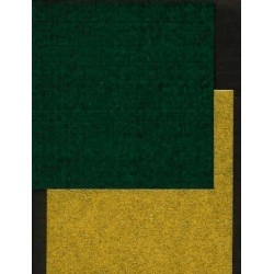 075 mm_  40 sh - Gold and Green Washi Paper