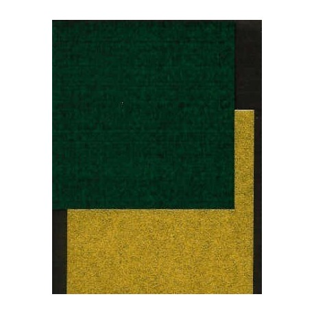 Origami Paper Gold and Green Washi - 075 mm -  40 sheets