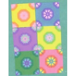 050 mm_ 102 sh - Floral Harmony Origami Paper