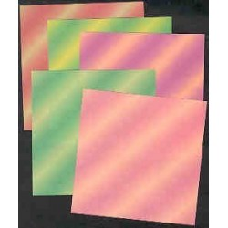 Origami Paper Floral Colored - 075 mm - 80 sheets