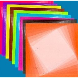 Origami Paper Illusion Pattern - 075 mm -  80 sheets