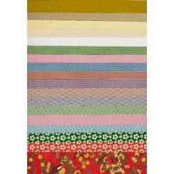 250 mm_  50 sh - Plain and Print Washi Paper
