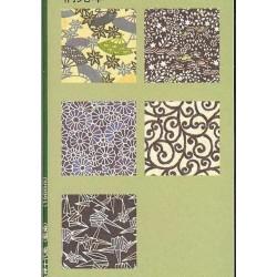 150 mm_   5 sh - Aizome Yuzen Washi Paper