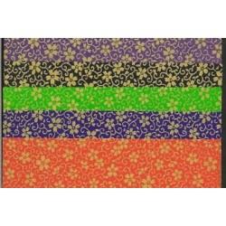 150 mm_   5 sh - Matching Pattern Washi Paper With Cherry Blossom Pattern
