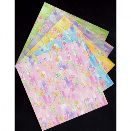 How to Make a Origami Cherry Blossom   458x458