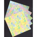 Origami Paper Fan and Floral Pattern - 150 mm - 25 sheets