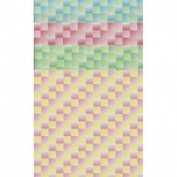 150 mm/  28 sh - Small Checker Pattern Paper