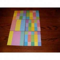 Origami Paper Pastel  Geometric Design Prints - 150 mm - 36 sheets