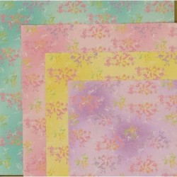 Origami Paper With Chiyogami Print- 150 mm -  36 sheets