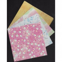 Origami Paper Four Season Chiyogami Print - 150 mm - 36 sheets