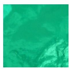 150 mm_  14 sh - Green Foil Paper