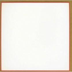 180 mm_  10 sh - Red Border White Washi Paper